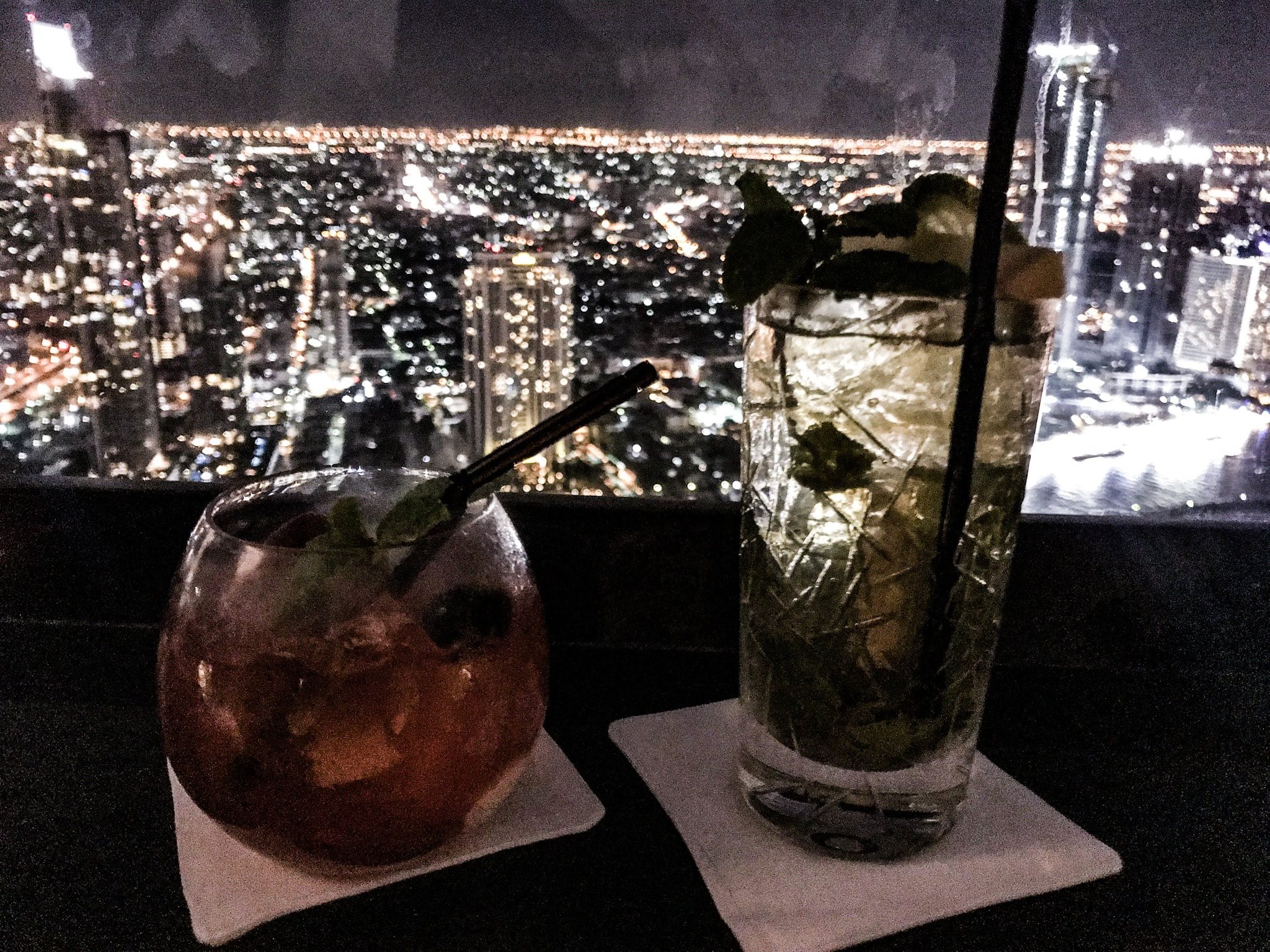 Lebua Sky Bar - Drinks