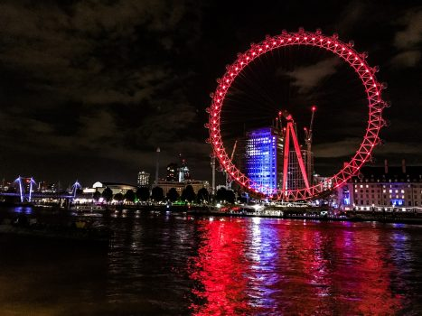 2 Tage in London - London Eye