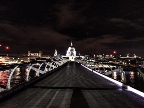 2 Tage in London - Millennium Bridge