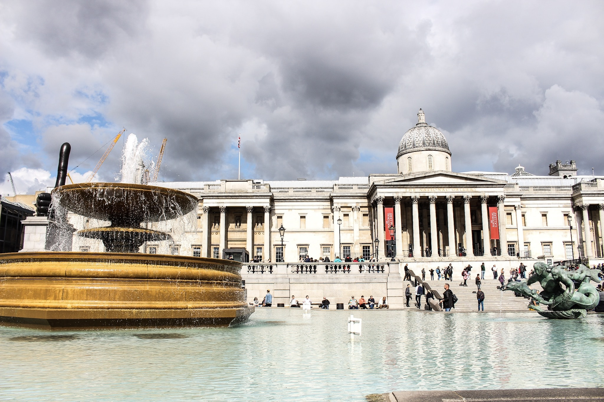 2 Tage in London - Trafalgar Square