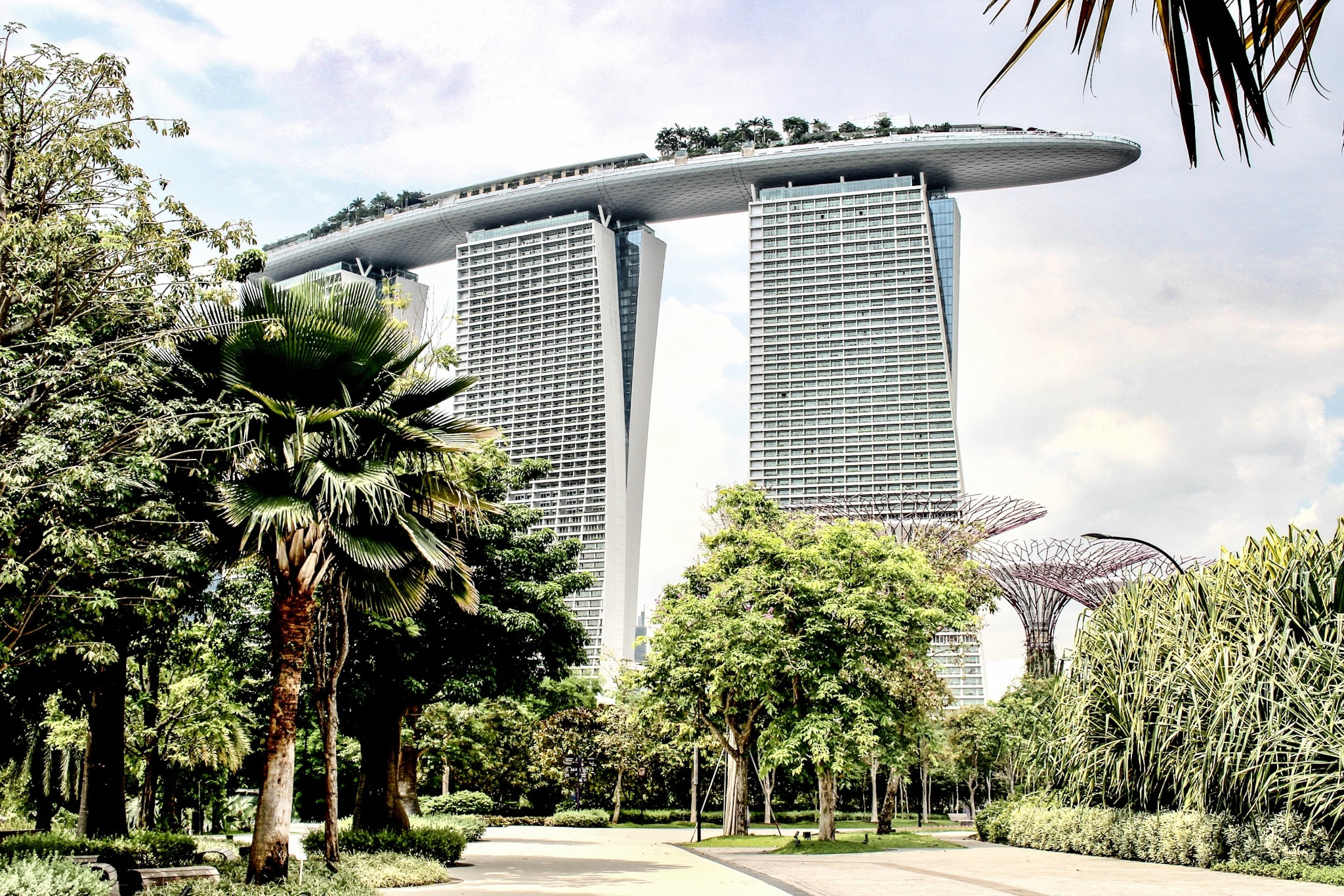 Singapur Low Budget - Marina Bay Sands.