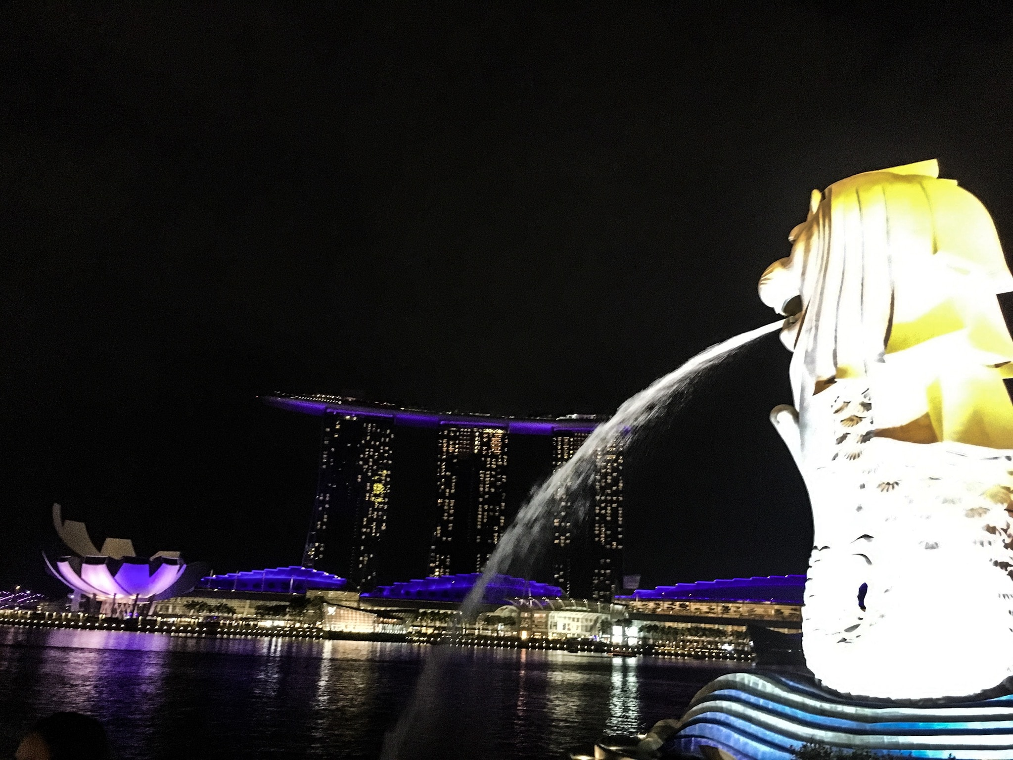 Singapur Low Budget - Merlion