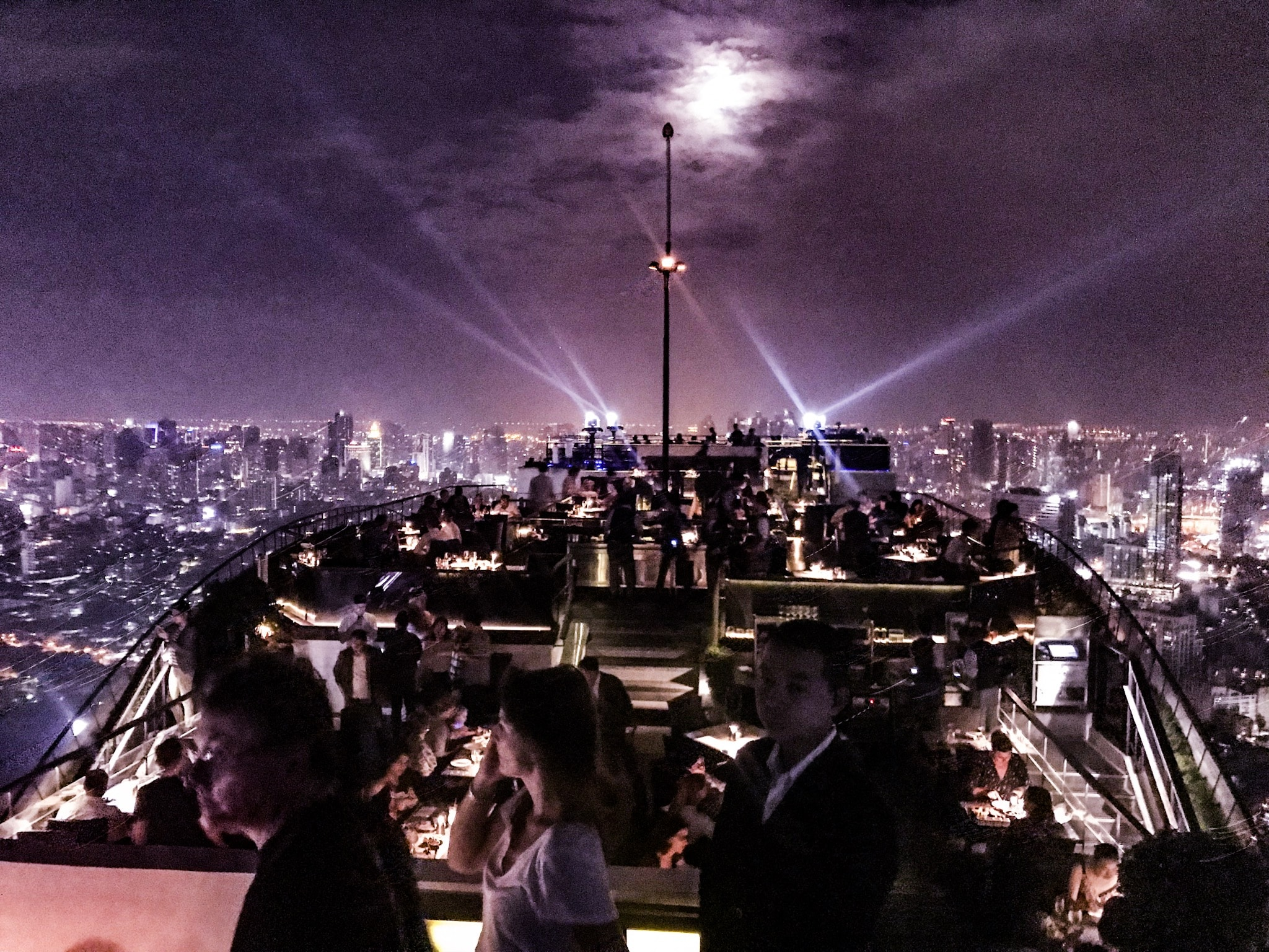 Rooftop Bars Bangkok Moon Bar
