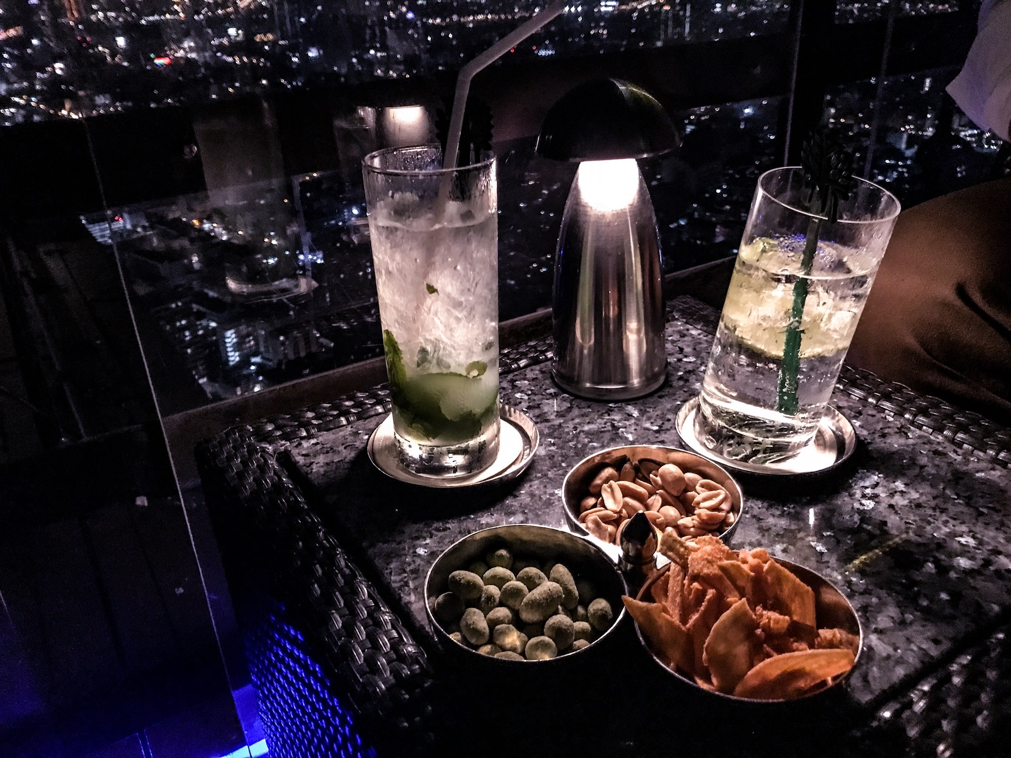 Rooftop Bars Bangkok Moon Bar Drinks