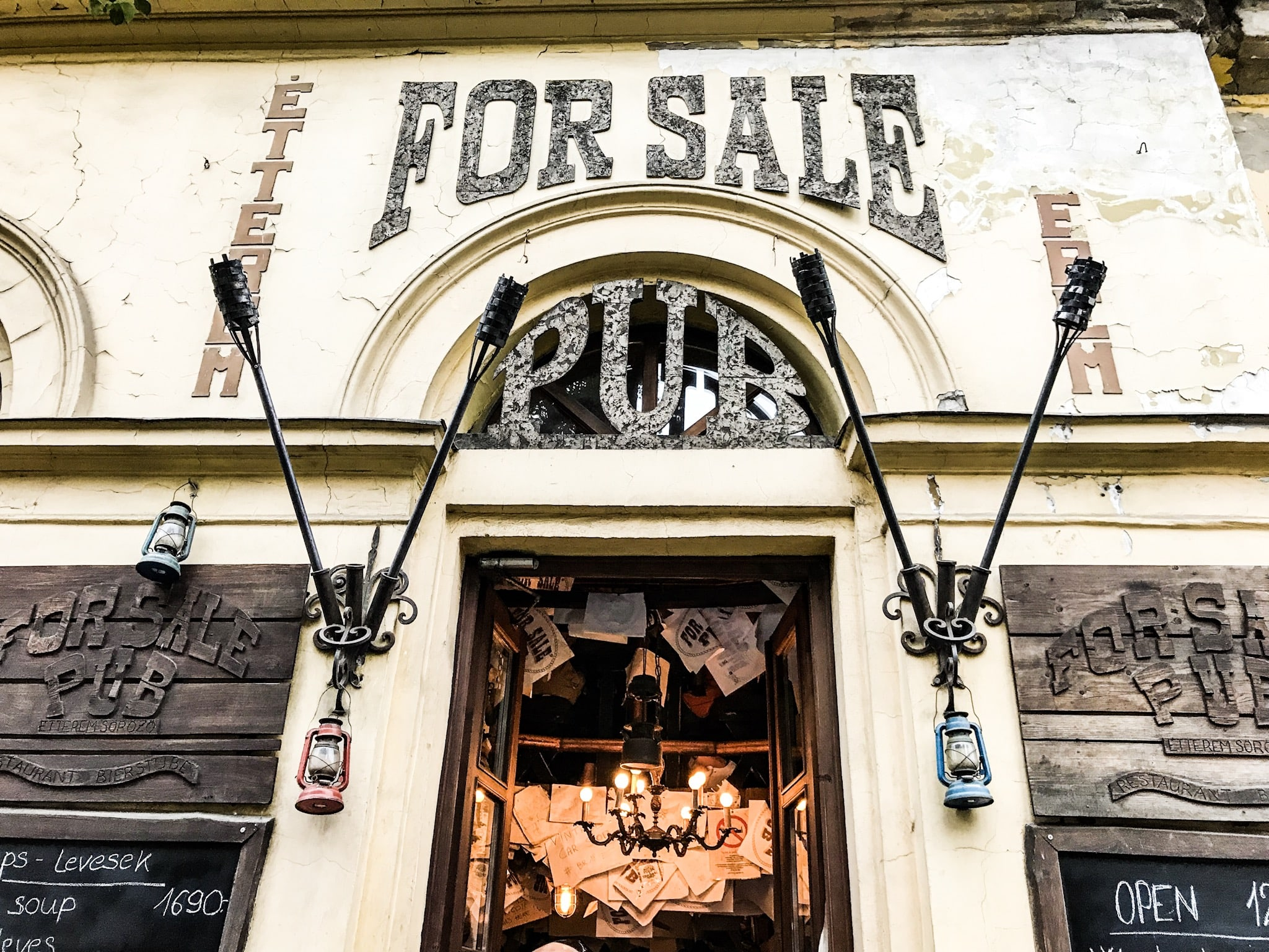 Budapest - For Sale Pub