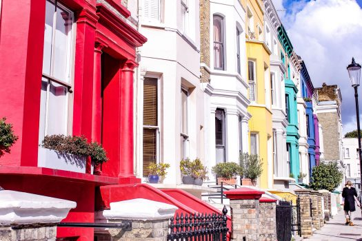London: Spaziergang durch Notting Hill