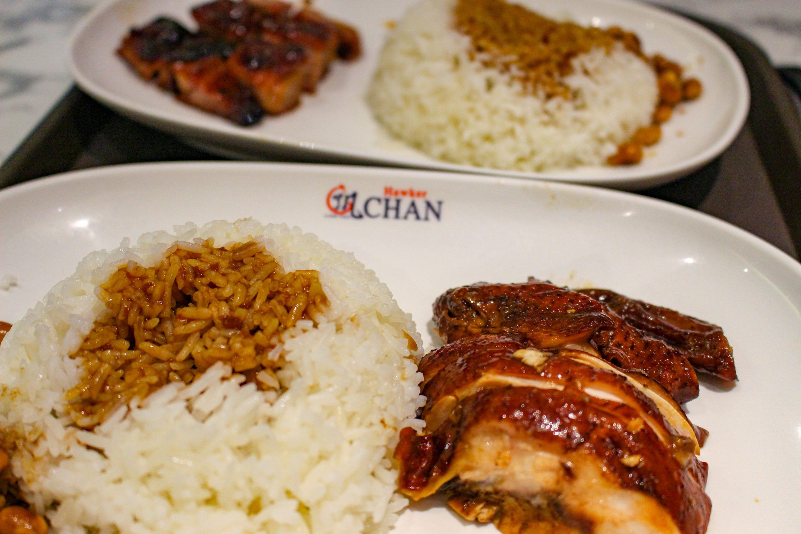Hawker Chan Soya Sauce Chicken Rice