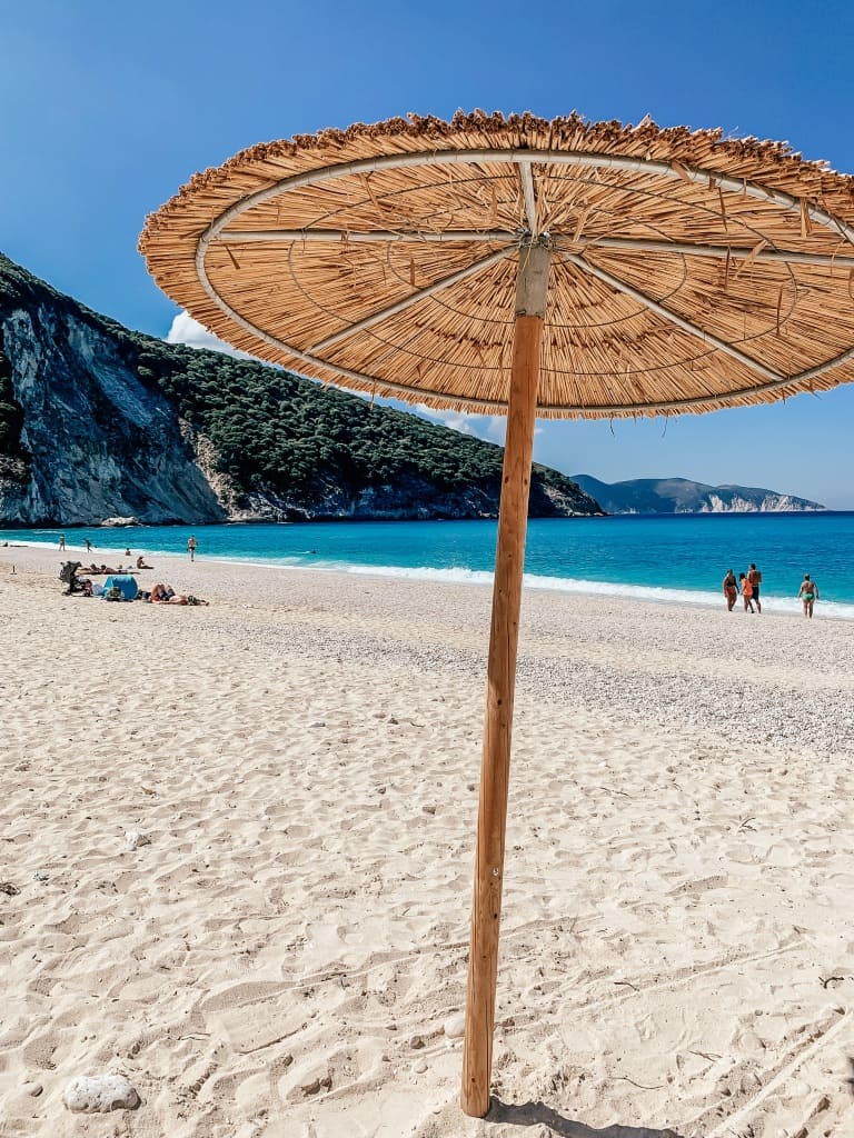 Myrtos Beach Kefalonia Umbrella